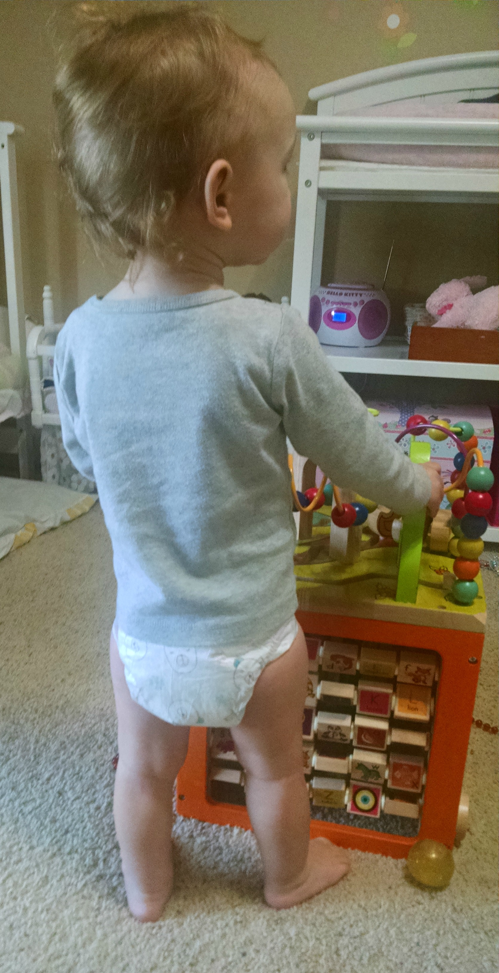 how to tell if honest diapers are wet