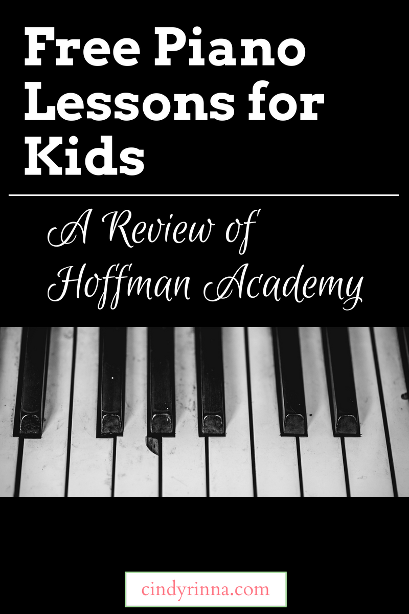 Free Piano Lessons For Kids A Review Of Hoffman Academy