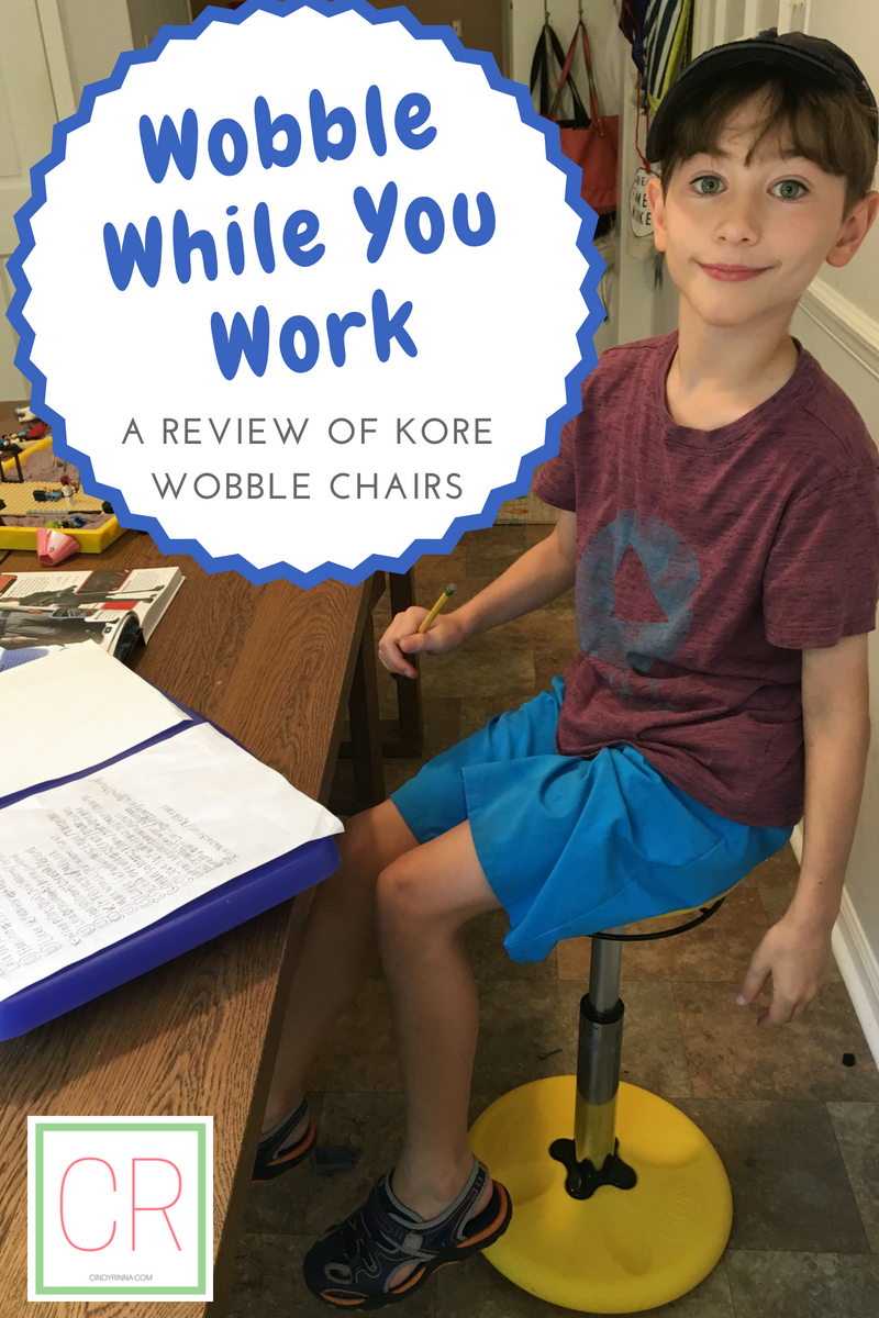 Wobble While You Work: a Review of Kore Wobble Chairs